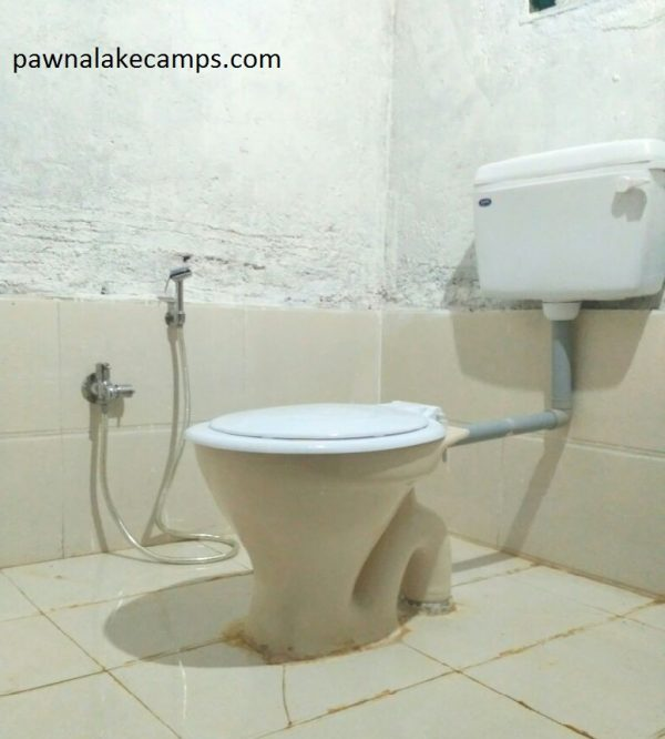 Washroom at pawna camps