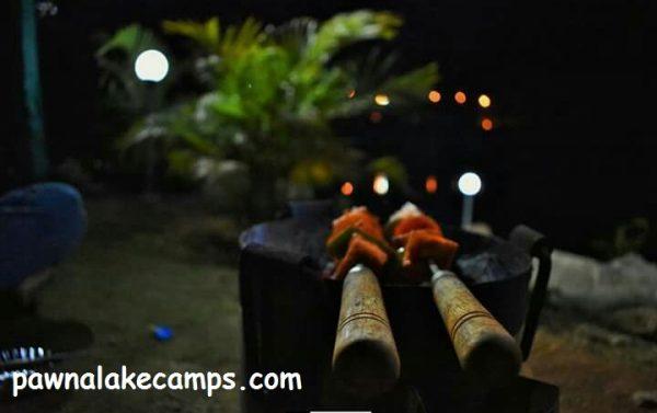 BBQ at Pawna River Camping