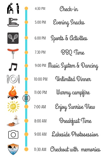 pawna lake camps event schedule