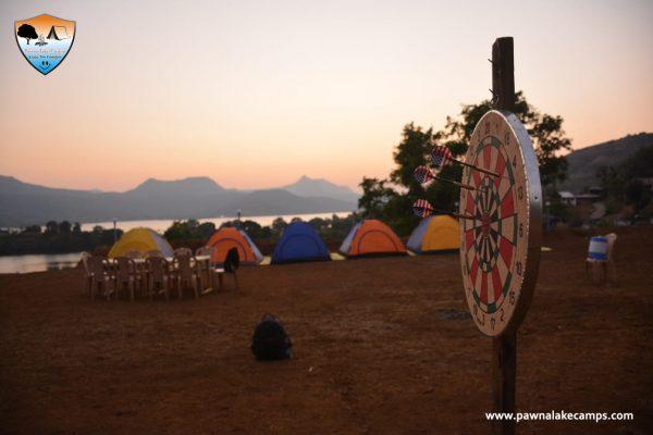 Pawna lake camping