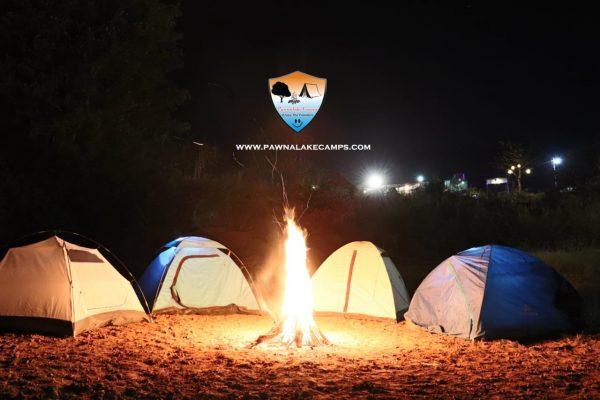 Pawna lake camping near Lonavala